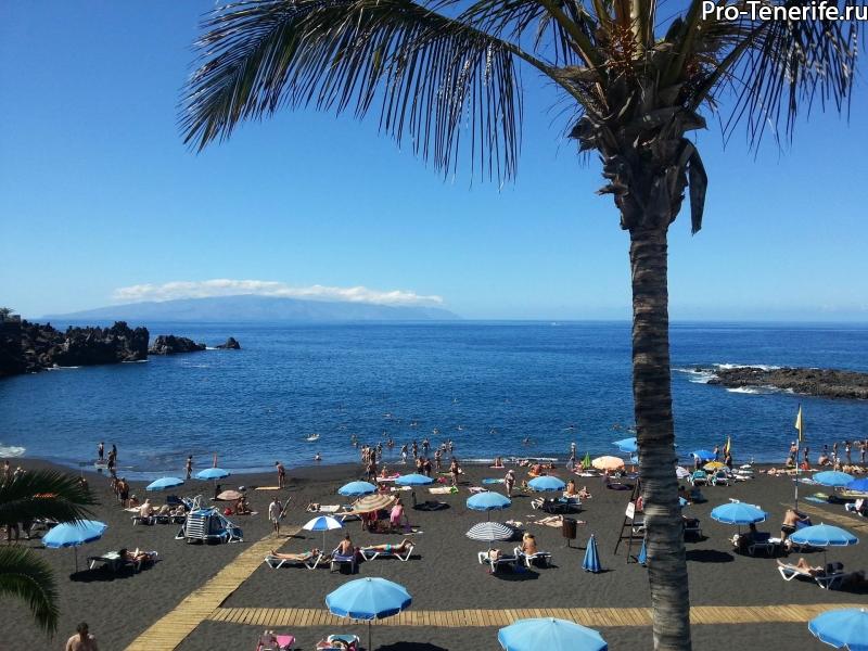 Лучшие пляжи Тенерифе Лас Америкас, пляжи Тенерифе