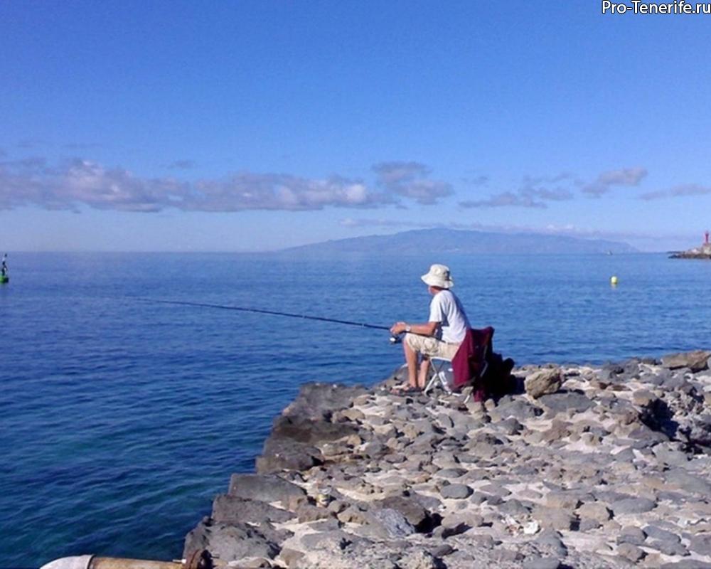 как ловить рыбу на тенерифе